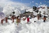 Gran fiesta de la espuma