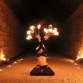 show danza tribal y fuego