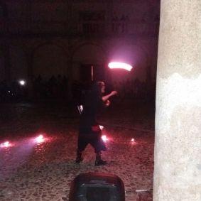 Malabares fuego